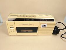 More details for vintage morphy richards radio cassette player lcd clock alarm working w issues