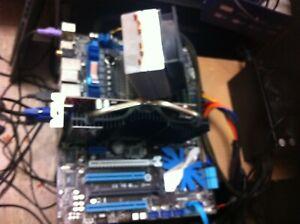 ASUS P7P55D EVO Mainbord+ I7 860 CPU +8GB Ram