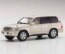 Toyota Land Cruiser 100 gold mica 1:43 Kyosho 03640GL
