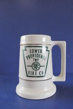 Vintage Lower Providence Twp. Fire Company Cup Mug Beer Stein