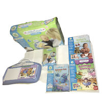 Leapfrog Little Touch LeapPad Learning Sytem With Games Used In Box x3 Games