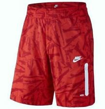 NIKE Prodigy Summer Solstice Red Print Board Shorts Swim Trunks NEW Mens Boys 28