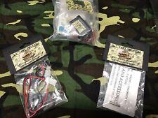 Lot G.I. Tank Smoker Heng Long Taigen Smoke Unit Magnets Charging Harness 1:16