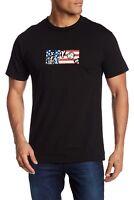 Volcom Men's Flag Tee Youth Against Establishment T-shirt Regular Fit Med Large