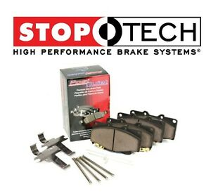 For Fiat 500 Abarth 12-16 Set of Front StopTech PQ Metallic Brake Pads 104.16181