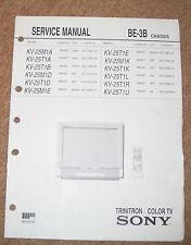 SONY BE-3B KV-25M1D Service Manual  Reparaturanleitung Schaltbild