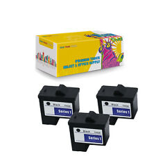 3-PK T0529 Black Compatible Ink Cartridge for Dell Photo 720 A920