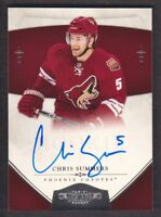 2010-11 Dominion Hockey #211 Chris Summers RC Auto /199 Phoenix Coyotes
