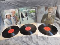 SIMON & GARFUNKEL~Sounds Of Silence-Bridge Over Troubled Waters-Hits-3 lp's-SALE