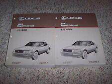 1993 Lexus LS400 LS 400 Factory Workshop Shop Service Repair Manual Set 4.0L V8