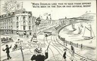 Douglas IOM Drunk Fantasy c1915 Postcard