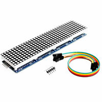 Dot Matrix Module MAX7219 Microcontroller Display Accessories X2I6