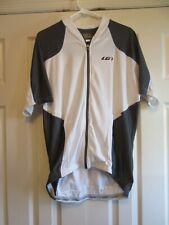 Garneau Sideburn Bicycle Jersey Size Xl (Us), White/Gray