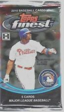 1-2010 TOPPS FINEST MLB PATCH AUTOGRAPH HOBBY HOT PACK 100% GUARANTEED