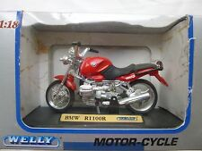 WELLY 1:18 SCALE  BMW R1100R  MOTORCYCLE  [MINT AND BOXED]