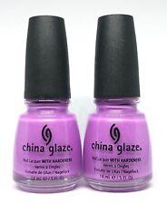 China Glaze Nail Polish No Way Jose 70635 Lavender w Silver Micro Glitter Lacque