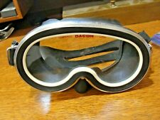 Vintage DACOR TENUE Scuba Diving Mask Tempered Lens 18-8 Stainless Good Rubber