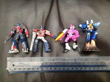 FASCIO di 4 Transformers TITANIUM SERIES-diecast figure/Lotto-Optimus Prime