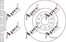 FRONT BRAKE DISCS (PAIR) FOR VW PASSAT CC GENUINE APEC DSK2473