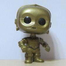 Funko Pop! Star Wars Collectible #15 C-3PO Bobble Heads Vinyl Figure