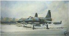 Michael Rondot - CF-104 Starfighter - Aviation Art