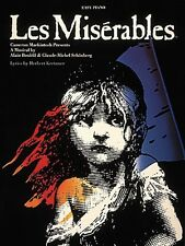 Les Miserables Sheet Music Easy Piano Vocal Selections NEW 000365280