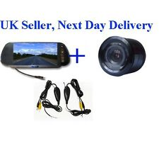 Motorhome Wireless Video Parking Reversing Camera 7'' LCD Monitor Kit