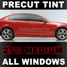 Chevy Cruze 2011-2015 PreCut Window Tint - Medium 25% VLT Film