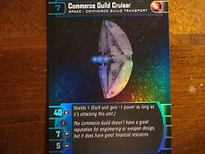 Star Wars TCG SR Commerce Guild Cruiser  FOIL 68/90