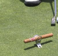 Cigar Holder, Golf Divot Repair Tool & Ballmarker