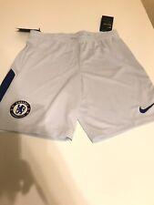 Nike Chelsea FC Soccer Short 2017-18 Size M White