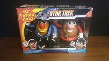 Star Trek Cmmdr. Spock & Uhura Potato Heads Set Collectors Edition  New 2011