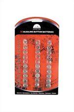 Audio Lab Alkaline Button Batteries Cell Watch Calculator Camera Alarm 30 Pieces