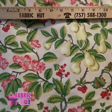 Home Decor Pear Tree Heavy Upholstery Fabric by the Yard