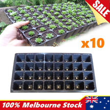 10x 32 Hole Seedling Starter Tray Plant Seed Grow Box Insert Propagation Nursery