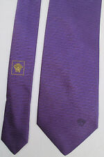 VERSACE   Authentique cravate 100% soie TBEG  vintage
