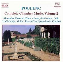 Poulenc: Complete Chamber Music, Vol. 2: Sonata for violin and piano / Bagatelle