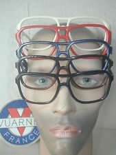 Vintage VUARNET REPLACEMENT 003 Brown,White,Blue, Red FRAME Sunglasses 4003 5003