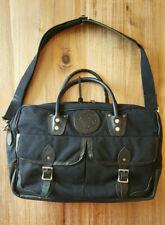 Duluth Pack Freelance Briefcase Portfolio Messenger Travel Bag Black Canvas