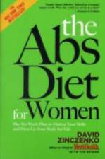 The Abs Diet for Women: The Six-Week Plan to Flatten Your Belly and-ExLibrary