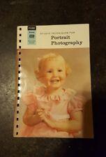 KODAK PROFESSIONAL DATA BOOK - STUDIO TECHNIQUES for PORTRAIT PHOTOGRAPHY 1967
