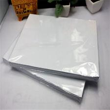 100 A4 Tinta Sublimación Calor Papel Transfer para Modal Camiseta Blanca Vidrio