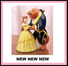 Disney Princess Belle BEAUTY & THE BEAST DANCING Salt & Pepper Shakers Figurine