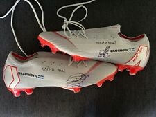 Zlatan Ibrahimovic worn game cleats with COA
