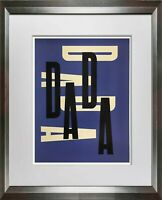 "Paul RAND Original SERIGRAPH ""Dada"" Limited EDITION  1975 w/Custom FRAMING"