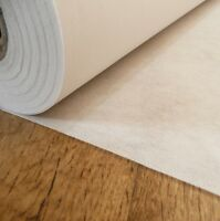 Medium weight fusible iron on interfacing in WHITE sold by the metre