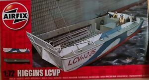 AIRFIX A02340 Higgins LCVP Landing Craft 1:72 Military Model Kit