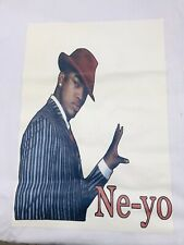 NE-YO Year of the Gentleman T Shirt Size XLarge hip hop R&B Pop White