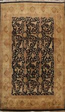 9'x12' Traditional Floral Agra Oriental Area Rug Hand-knotted Living Room Carpet