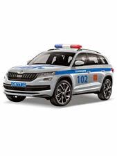 SKODA KODIAQ. Metal model. Russian police. Inertial mechanism. 1:53